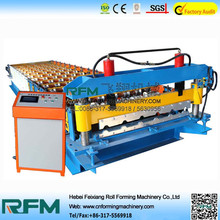 FX roof tile making machine price canton fair 2014