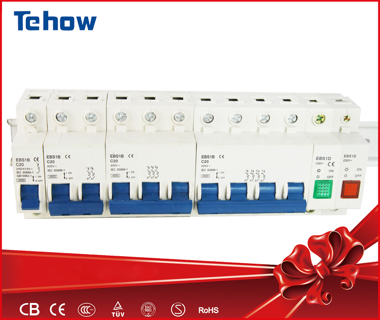 Single phase 20 amp miniature electrical circuit breaker MCB switch manufacturer
