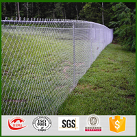 Eco Friendly Galvanized PVC Coated Wire Mesh Chain Link Fence/cheap chain link fencing