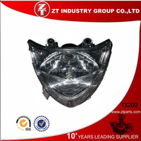 China Wholesale TX200 Head Lamp for Keeway Motorcycle Parts
