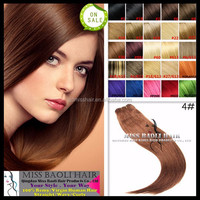 Alibaba Trade Assurance Paypal Accepted Factory Price Grade 6A Brazilian Hair Weave #30 Color