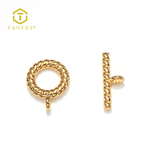 Cheap Wholesale Gold Plated Brass Metal Clasp For Jewellery Making