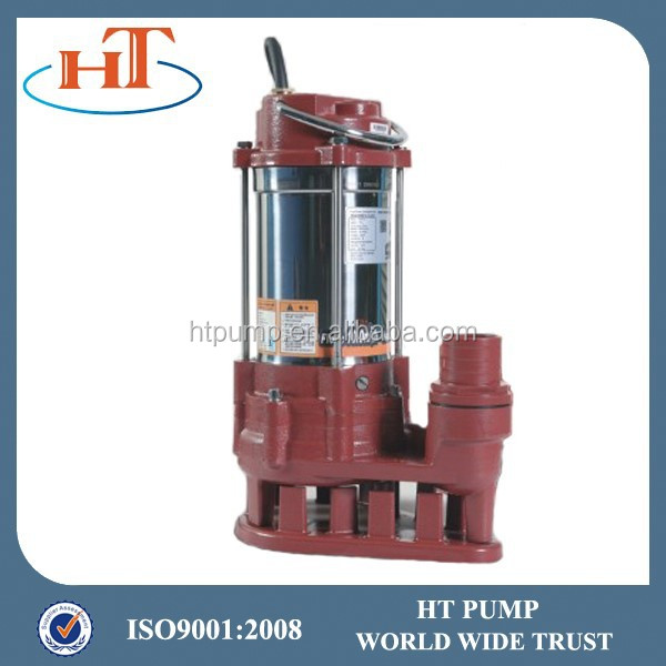 stainless steel & cast iron submersible domestic pump