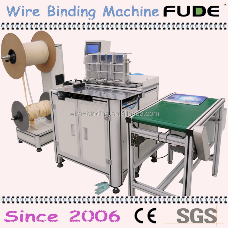 2016 Top sale double <strong>o</strong> wire binding & calendar binding machine