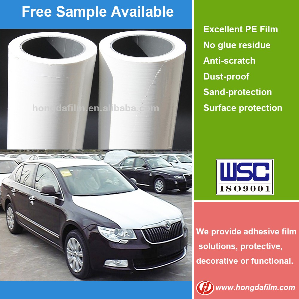 Factory Wholesale PE Car Protective Film Car Protection Film for New Car
