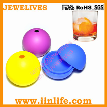 Scientific Sphere Design silicone whiskey ice ball