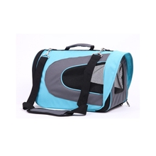 Attractive price new type soft fabric outdoor dog carrier bag with tote handle