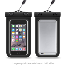 Universal cell phone dry bag waterproof case for samsung galaxy j5 j7