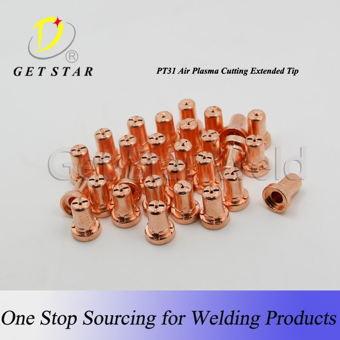 Plasma cutting consumables/ Durable PT-31 EXTENDED tips and nozzles