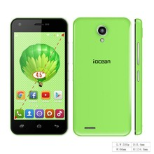 "4.5"" screen iOcean x1 smart phone MTK6582M 1.3GHz Quad core Android 4.4 1GB RAM 8GB ROM Dual SIM Dual Standby"