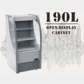 190L Convenient Store Shop Can Drink Freezer Showcase Displsy Refrigerator For Beverage