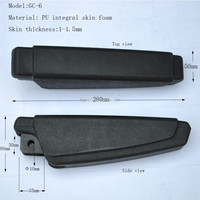 PU universal armrest,bus seat armrest for operator, tractor, truck, construction vehicle