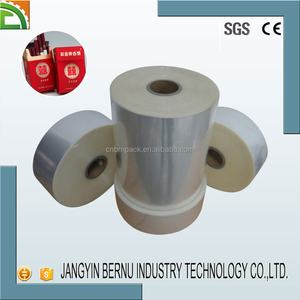 semi shrink cigarette BOPP film