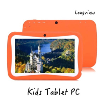 2015 smart design 7 inch Quad core 1024X600 HD screen 512MB 8GB children tablet kids tablet