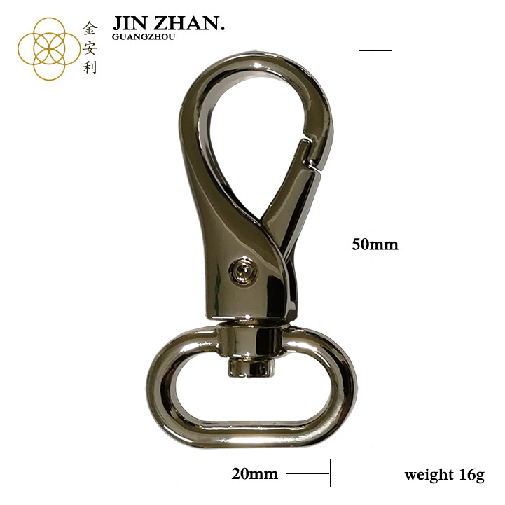 K4522 Guangzhou factory prices popular  trigger snap hook for handbag accessories