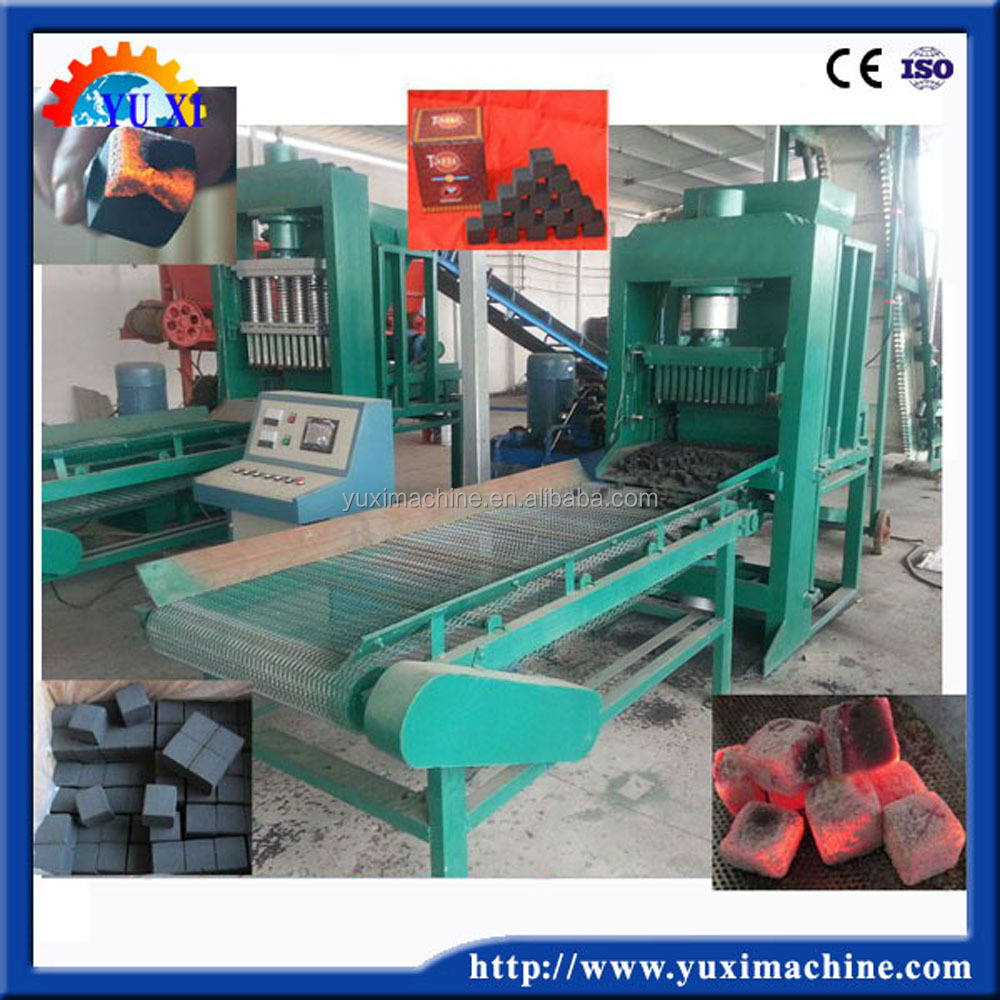 2017 best seller hydraulic cube powder sawdust charcoal press briquetting machine