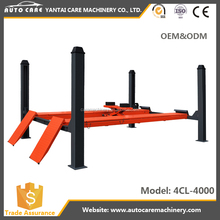 high quality used 4 post car lift for sale