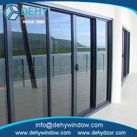 High quanlity bi fold aluminium door and window for commercial made in China