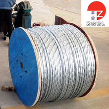 3X7 Hot Galvanized Steel Wire Rope Cable for Cable Guardrail