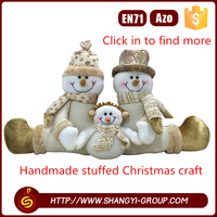 shantou 100% handmade new year stuffed elf dolls craft christmas decoration