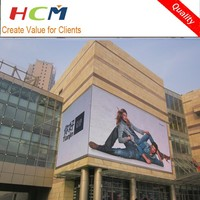 Double sides fullcolor led tv screen panel Outdoor display case