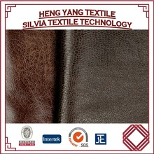 Artificial pu leather fabric for modern sofa textiles leather sofa fabric and leatherette pholstery fabric