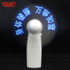 remote controlled programmable led message wireless led mini fan