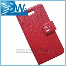 table talk leather case for apple iphone 4