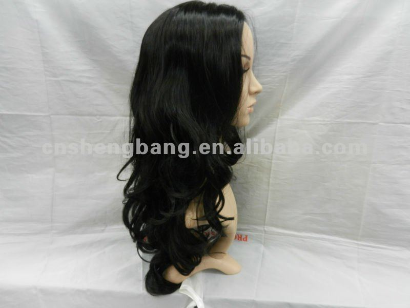 hot sale lace front Indan human hair wig