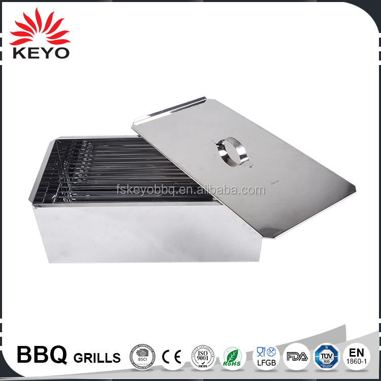Easily cleaned battery operated bbq grill smokeless tabletop korean bbq grill