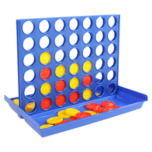 Connect 4 in a Raw Board Game Educational Toy