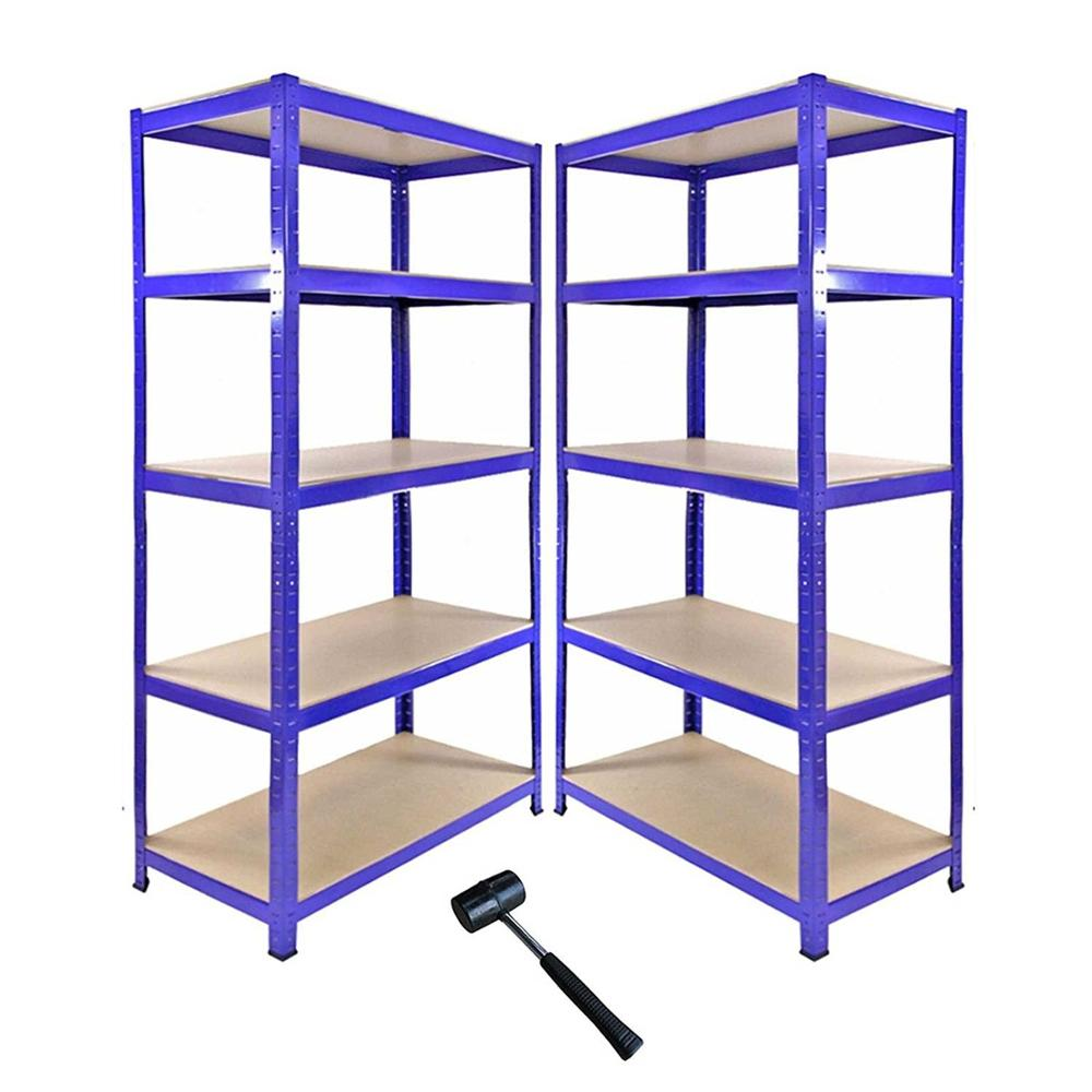 Heavy Duty Metal Storage Racking Garage Shelving Warehouse 5 Tier Unit <strong>Shelf</strong>