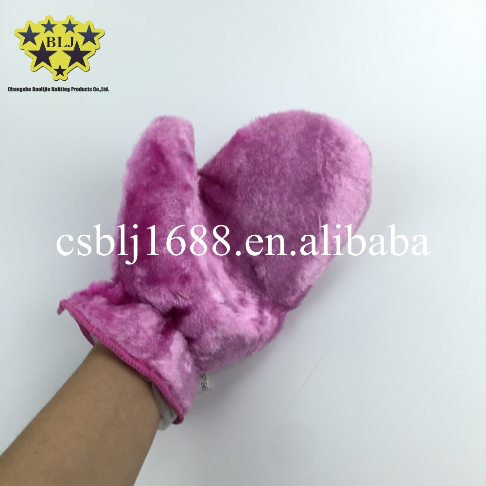 Household Cleaning Fabric Hand gloves Wood Fiber China Supplier