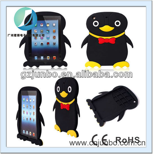 3D Cartoon Animal Case Cover for ipad