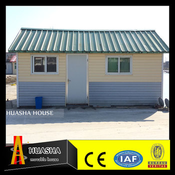 Two side slope sandwich panel small villa prefabricated houses for sale