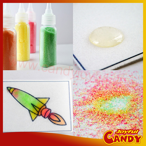 (EU, AU, North American Market) DIY Candy Painting Novelty Candy