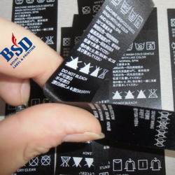 Professionally supply laundry name tags and silk cloth label and labels for kids stuff