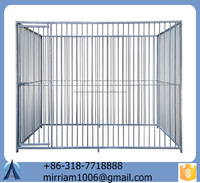 High quality Cheap standard Large outdoor galvanised welded wire dog kennels /Pet Cages