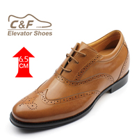 Factory genuine leather elevator men dress shoe italy new design men leather shoes