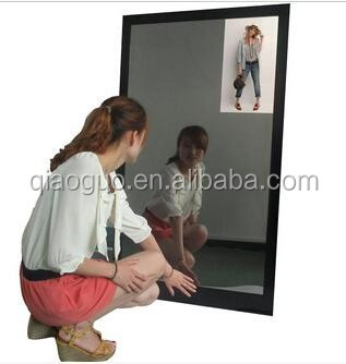 Hot selling HD magic mirror with moton senser function 42 inch advertising display