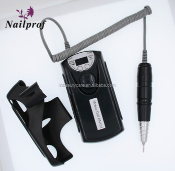Nailprof Factory Best quality 35W Rechargeable Portable Mobile Manicure nail files drill machine