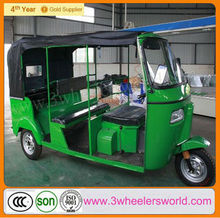 200cc Motorized Driving India Bajaj Miniature Tricycle for 6Passenger /Bajaj Auto Rickshaw/Bajaj Tuk Tuk