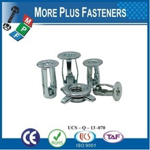 Made in Taiwan Jack Nuts Threaded Insert Molly Jack Nuts