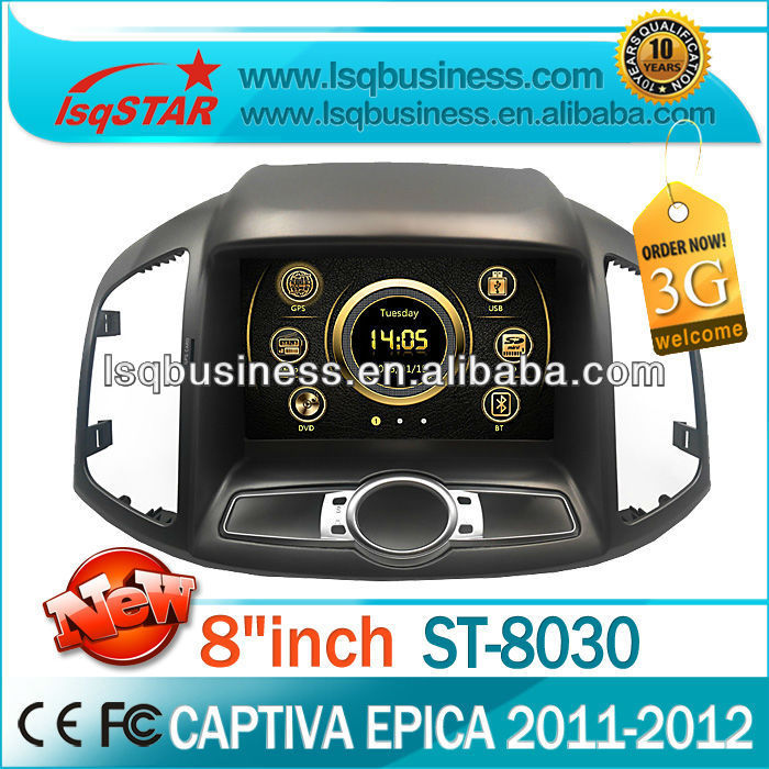 high quality car dvd player for CHEVROLET Captiva 2012 with dvd/bluetooth/TV/ipod on-sale!hot!drive your life!