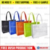 Fun Express Nonwoven Polyester Tote Bag Assortment|Nonwoven Eco shopping tote bags