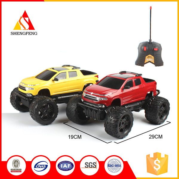 Kids boys SUV rc car kit battery operated toy cars pickup trucks