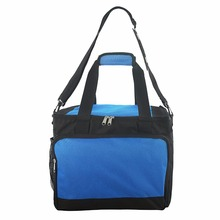 Large blue picnic insulated ice cooler bags