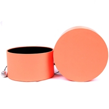 Fancy round cylinder cardboard paper gift packaging box