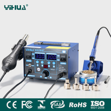 YIHUA862BD+ 2 in 1 smd bga rework soldering station solder for mobile phone and laptop repair