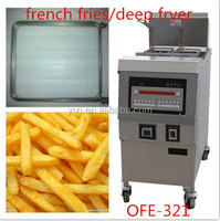high quality double basket /Commercial Electric Fryer /with oil pump and filter